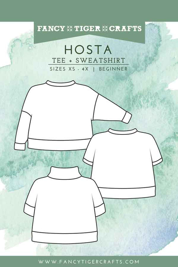 Hosta Tee + Sweatshirt