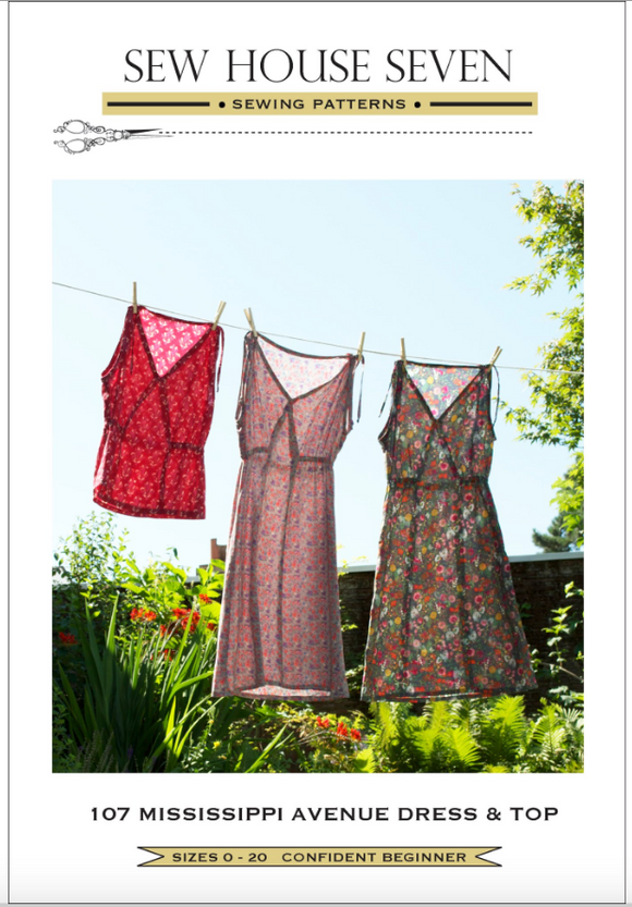 Sew House Seven- The Mississippi Avenue Dress & Top