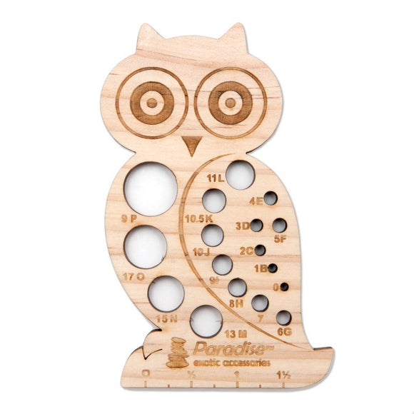 Needle & Hook Gauge - Owl