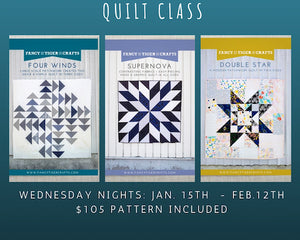 Quilting Class- 1/15 - 2/12