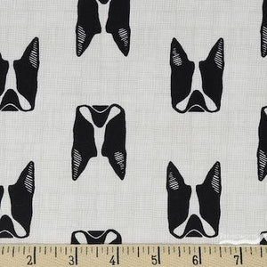 Cats and Dogs - White $11.25/ Yard