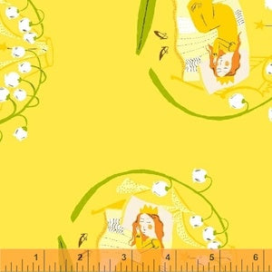 Sleeping Beauty - Yellow $11.75/ Yard