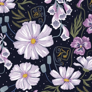 Ghost Floral - Astral $11.75 / Yard