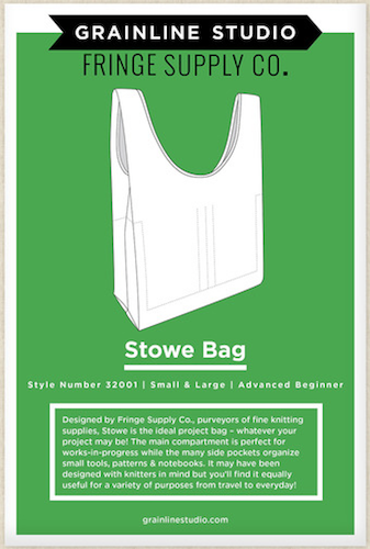 Grainline Studio - Stowe Bag