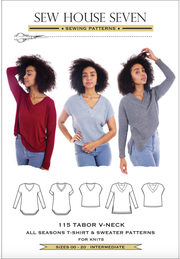 Sew House Seven- The Tabor V-Neck