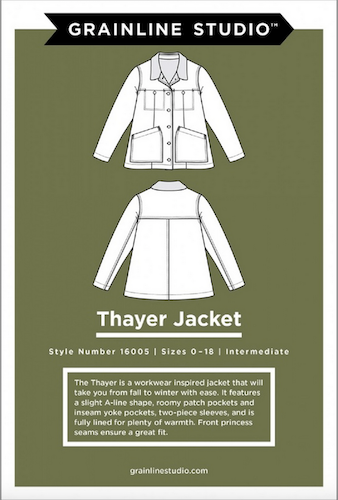 Grainline Studio - Thayer Jacket