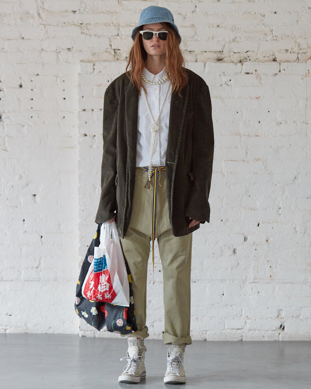 Deconstructed Blazer - Olive Drab