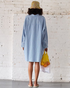 Button Front Shirt Dress