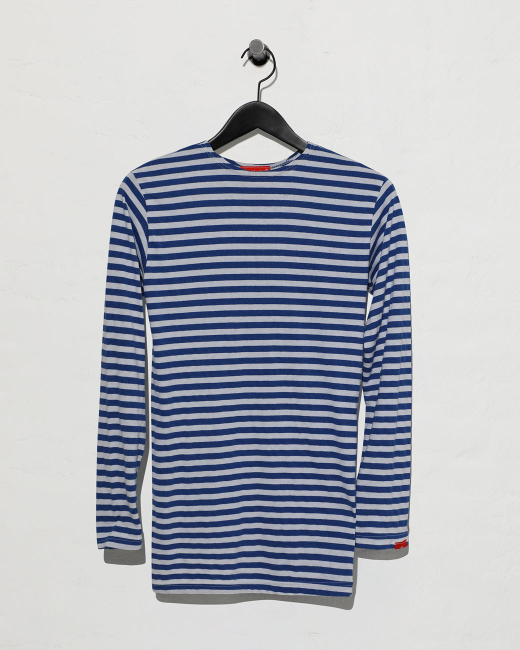Striped T-shirt - Blue White Stripe