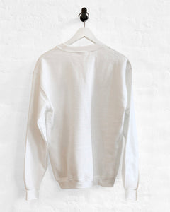 Yale Sweatshirt - White