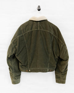 Exeter Trucker with Sherpa - Army Green