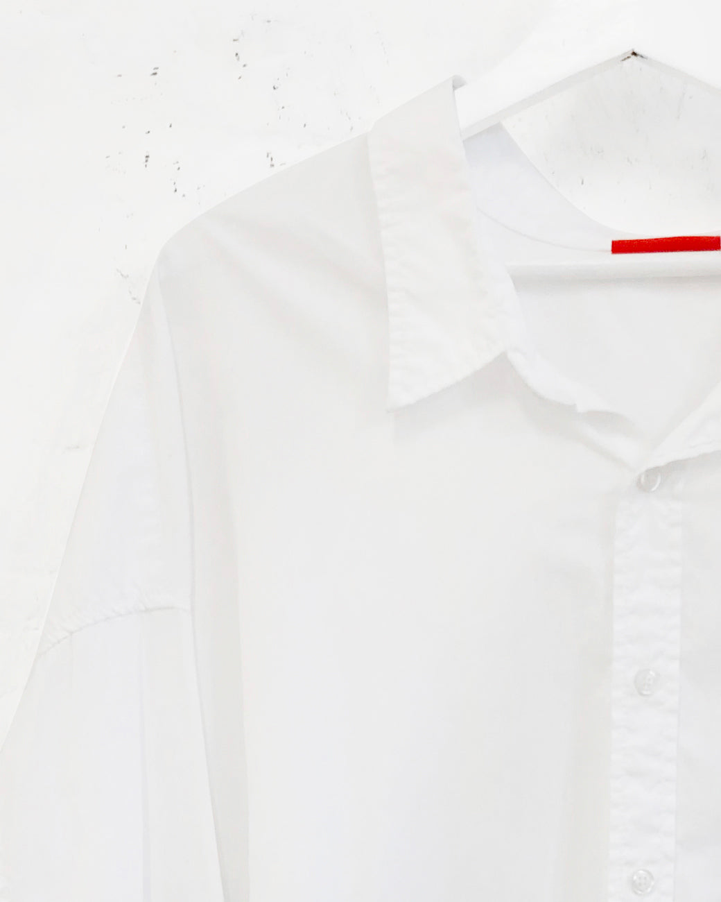Button Front Shirt - White