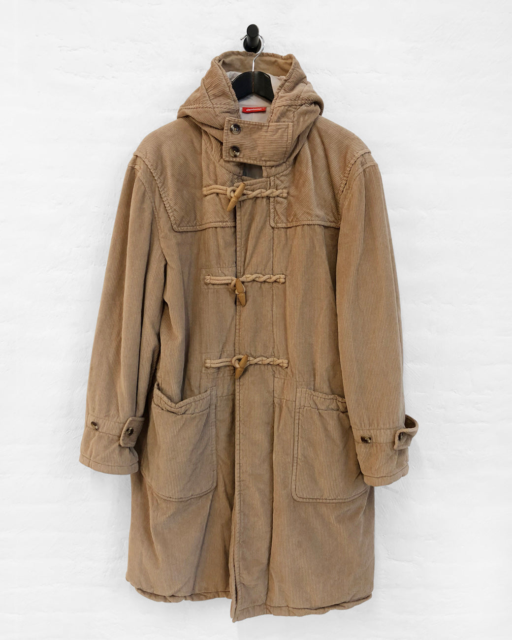 Toggle Coat - Camel