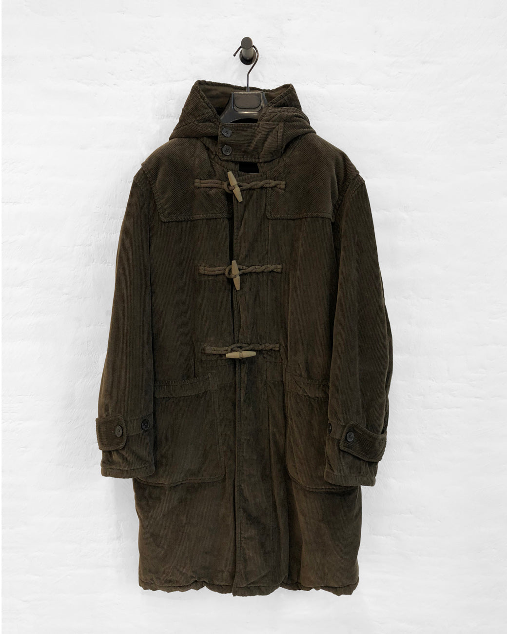 Toggle Coat - Olive Drab