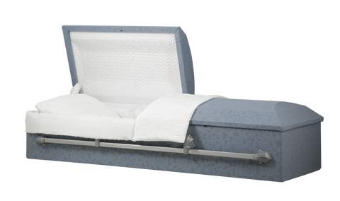 Titan Cloth Casket with Round Top