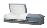 Titan Casket Cloth Covered Casket with Rounded Top