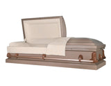 Titan Casket Andover Series Steel Casket in Copper