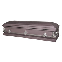 Titan Orion Series Steel Casket Orchid Closed View