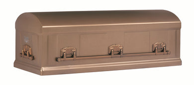 Standard Series Burial Vault | Burnished Bronze Steel | 12-Gauge - Titan Casket