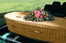 Load image into Gallery viewer, Titan Willow | Wicker Casket made from Willow - Titan Casket