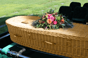 Titan Willow | Wicker Casket made from Willow - Titan Casket