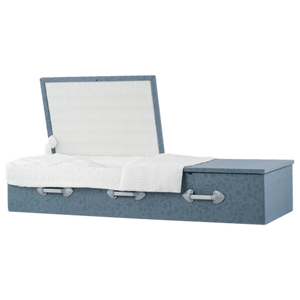 Titan Cloth-Covered Casket | Flat Top