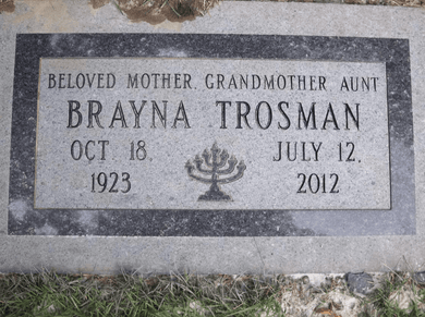 Fully customizable premium marker headstone for grave site produced by Katzman Monument Company