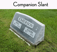 Load image into Gallery viewer, Customize a Headstone | Slant - Titan Casket