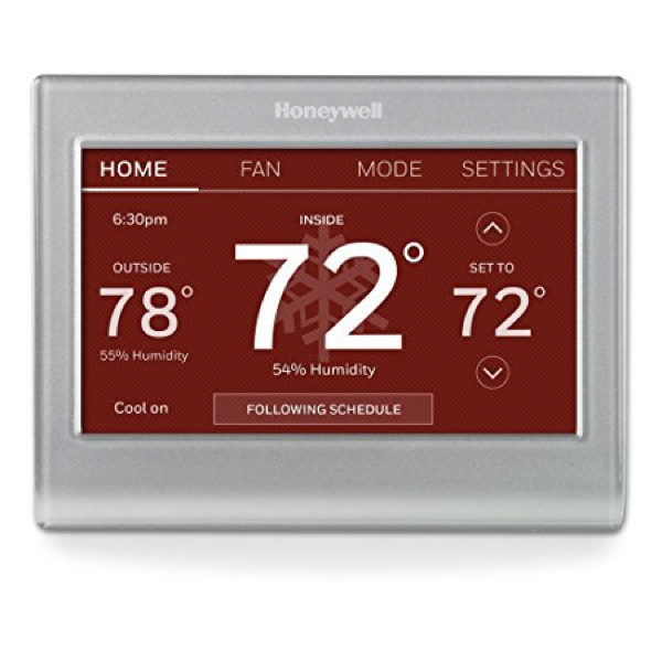 Honeywell WiFi Color Touchscreen Programmable Thermostat image 5607065747505