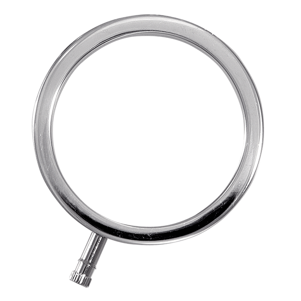 ElectraRing Solid Metal Cock Ring (Multiple Sizes) - ElectraStim Official