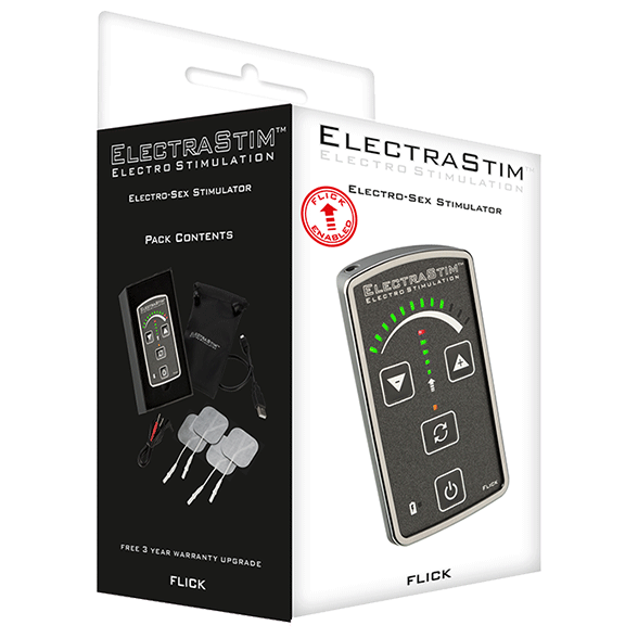 Flick EM60-M Stimulation Multi-Pack - ElectraStim Official