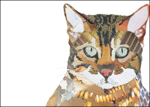 PCK0118 BEGAL CAT - Hand Signed Giclée Print