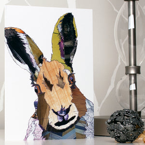 CK0102 'Hare' Greetings Card (packed in 6's)