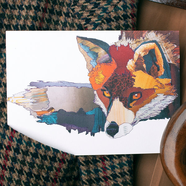 CK0109 'Fox' Greetings Card (packed in 6's)