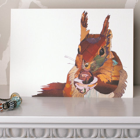 CK0110 'Big Squirrel' Greetings Card (packed in 6's)