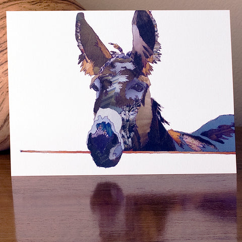 CK0111 'Donkey' Greetings Card (packed in 6's)