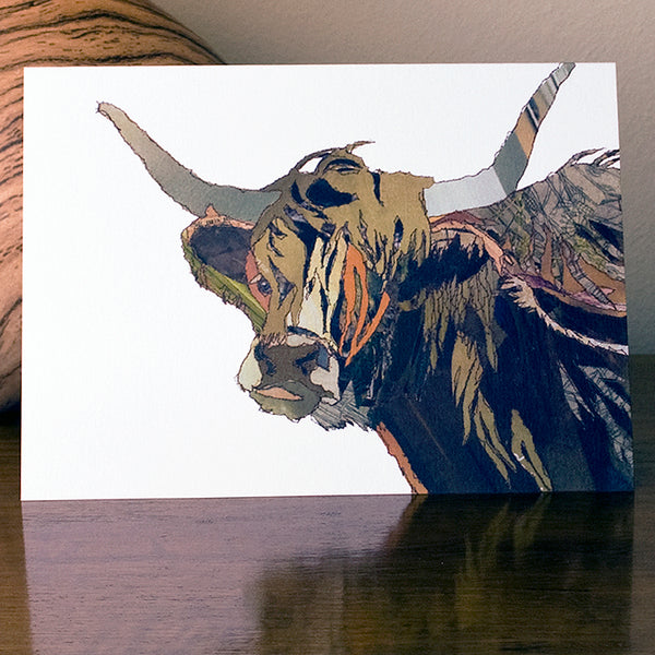 CK0112 'Angus' Greetings Card (packed in 6's)