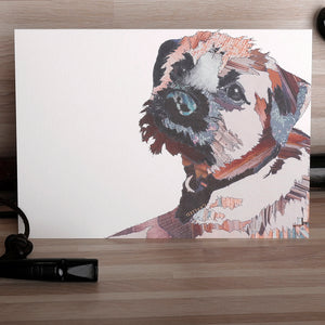 CK0122 'Border Bert' Greetings Card (packed in 6's)
