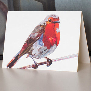 CK0131 'Robin Red' Greetings Card (packed in 6's)
