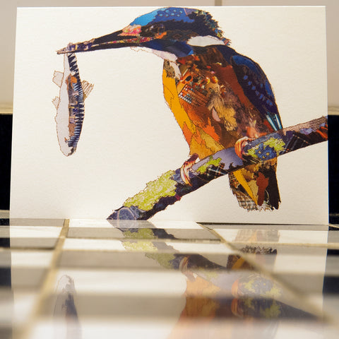 CK0148 'Kingfisher' Greetings Card (packed in 6's)