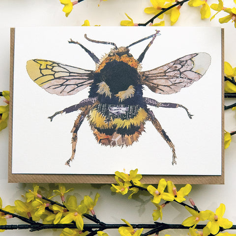 CK0152 'Bee' Greetings Card (packed in 6's)
