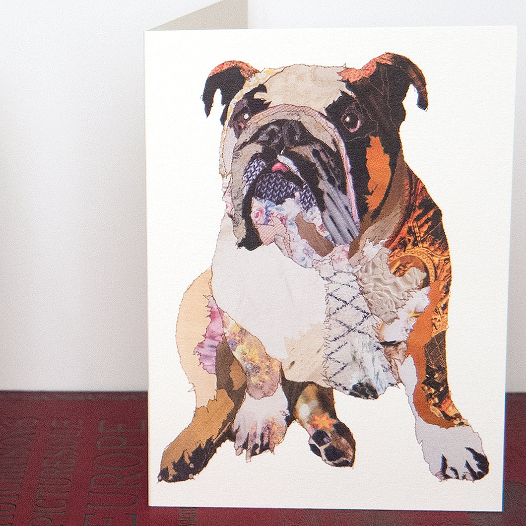 CK0153 'Tank Bulldog' Greetings Card (packed in 6's)