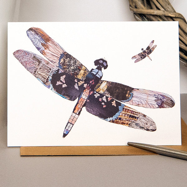 CK0155 'Dragonfly' Greetings Card (packed in 6's)