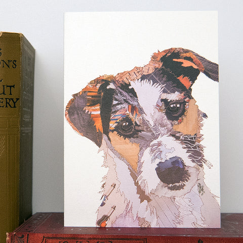 CK0159 'jack Russell' Greetings Card (packed in 6's)