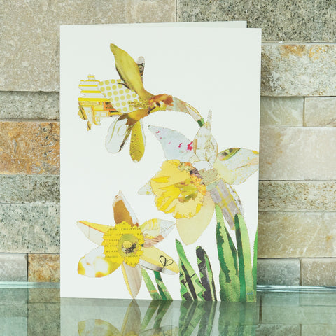 CKHF012B 'Daffodils' Greetings Card (packed in 6's)