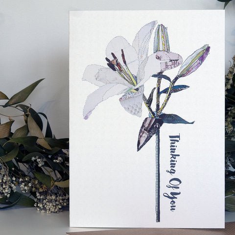 CKHF01 'Lily' Greetings Card (packed in 6's)