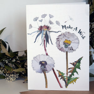 CKHF02 'Dandelion' Greetings Card (packed in 6's)