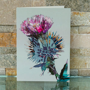 CKHF06B 'Thistle' Greetings Card (packed in 6's)