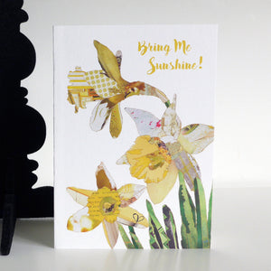 CKHF12 'Daffodils' Greetings Card (packed in 6's)