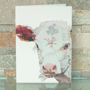 CKMB03 'Baby Calf' Greetings Card (packed in 6's)